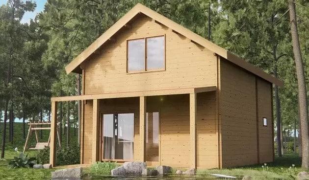 Casa madera Lena