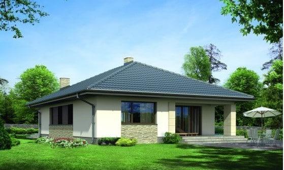 Casa modular modelo Dana