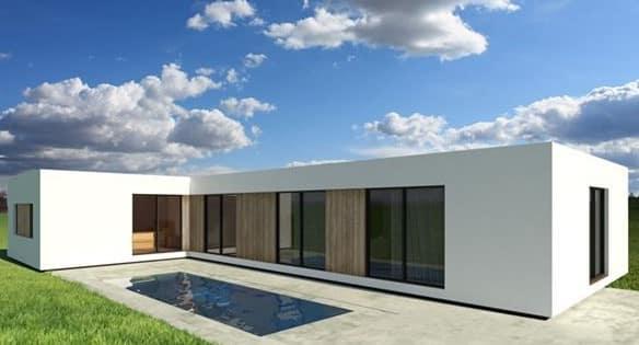Casa modular modelo Roma