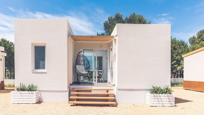 Casa modular de chapa sandwich modelo Ibiza
