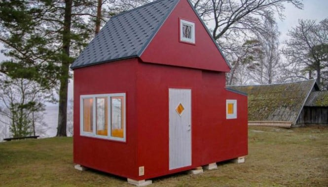 Mini casa Red