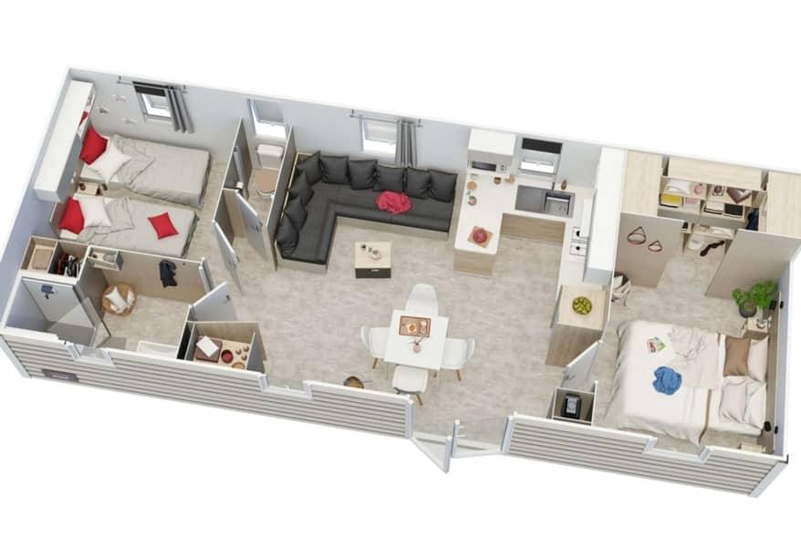 MOBIL HOME NUEVO MODELO IRM CAPUCINE8